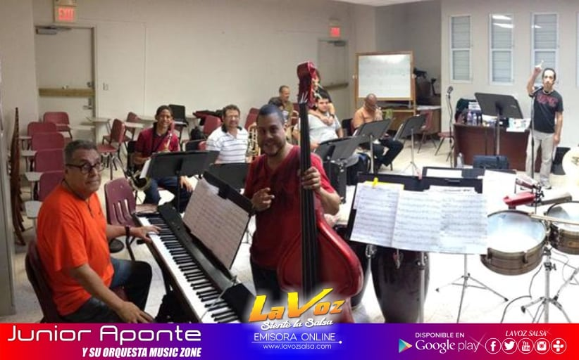Junior Aponte y Su Orquesta Music Zone